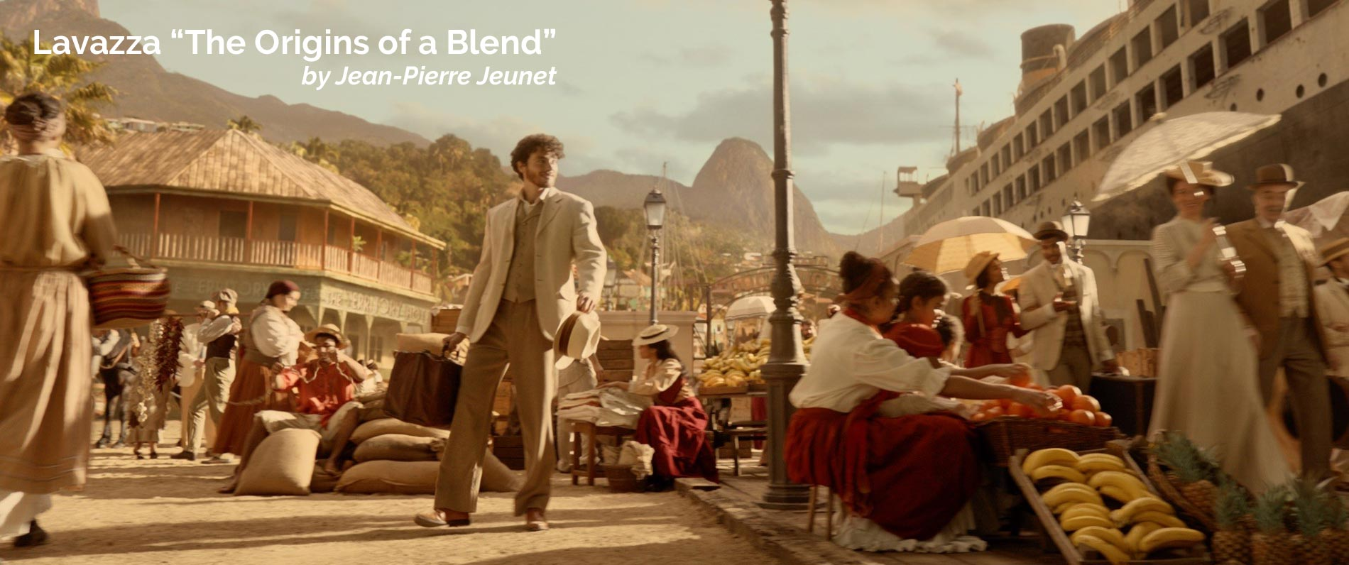 Lavazza - The Origins of a Blend